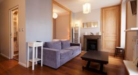 Apartment furnished T1 1 rooms for 2 à 4 people in LYON close to Bourse du Travail