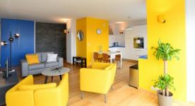 Apartement furnished T3 3 rooms for 2 to 4 people in Villeurbanne close to Villeurbanne
