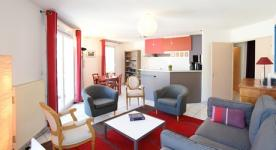 Apartment furnished T3 3 rooms for 5 à 6 people in Lyon close to Part-Dieu