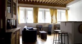 Apartment furnished T2 2 rooms for 2 à 4 people in Lyon  close to Presqu'île