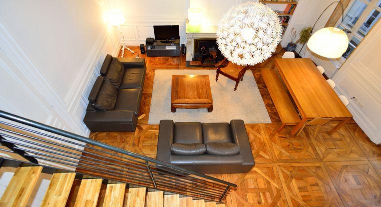 Appartement meubl lyon 2 location t3 bellecour appart 39 ambiance - Location studio meuble lyon 2 ...