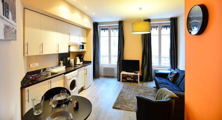 appartement meubl lyon 3 studio louer part dieu appart 39 ambiance. Black Bedroom Furniture Sets. Home Design Ideas