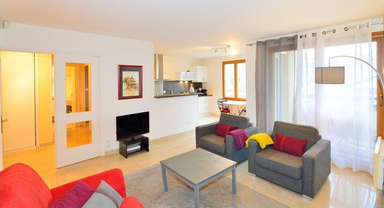 Meubl courte dur e villeurbanne t3 meubl appart 39 ambiance - Location meuble courte duree lyon ...