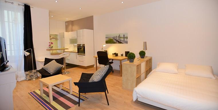 location temporaire lyon 2 t1 meubl bellecour appart 39 ambiance. Black Bedroom Furniture Sets. Home Design Ideas