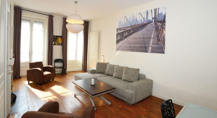 Logement courte dur e lyon 6 t2 meubl foch appart 39 ambiance - Location meuble courte duree lyon ...