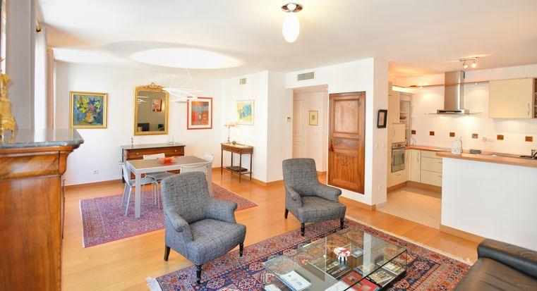 H bergement de vacances lyon 6 foch t2 meubl courte dur e appart 39 ambiance - Location meuble courte duree lyon ...