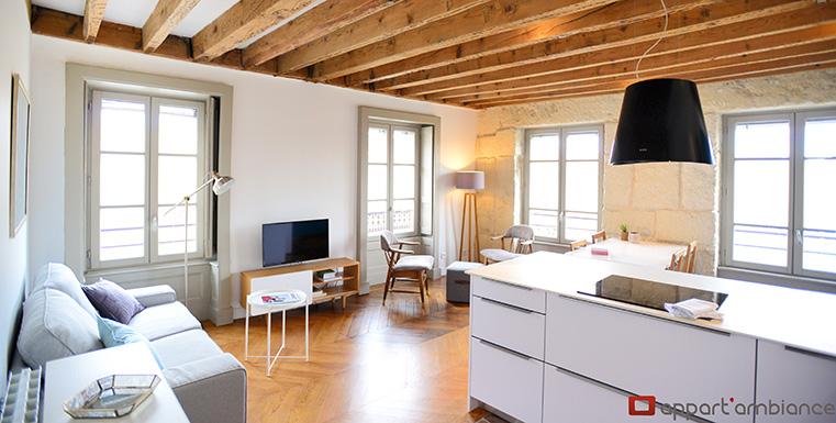 Appartement meubl lyon 5 location t3 vieux lyon appart 39 ambiance - Location appartement lyon meuble ...
