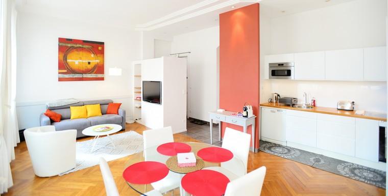 Appartement meubl lyon 9 location t2 16buyer appart 39 ambiance - Location studio meuble lyon 2 ...